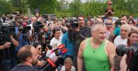 Policisté se v Ostravě fotili s Kajínkem. Čelí kritice vedení i ministerstva vnitra - anotační obrázek