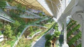 Stavba, která na světě nemá obdoby. Brusel plánuje postavit masivní komplex pokrytý vertikálním lesem