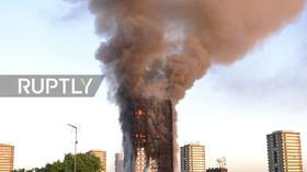Požár výškové budovy v Londýně