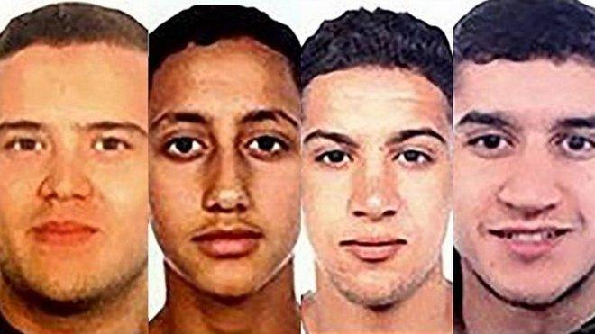 Teroristický útok v Barceloně: Dodávka najela do davu lidí (17. srpna 2017): Španělská policie pátrá podle tamních médií po čtyřech mužích. Tři z nich se narodili v Maroku. Čtvrtý muž Moussa Oukabir, který pravděpodobně řídil dodávku, s níž zabil v Barceloně 13 lidí, se narodil ve Španělsku. Má ale marocké občanství. Podle televize RTVE je to bratr jednoho ze zadržených Drisse Oukabira. Kromě Oukabira hledá policie jeho známé Mohameda Hychamiho a Younese Abouyaaqouba, kteří stejně jako Oukabir žili ve městě Ripoll. Čtvrtým hledaným je Said Aallaa z obce Ribes de Freser (asi 120 kilometrů severně od Barcelony). Je jim od 17 do 24 let, informují španělská média.