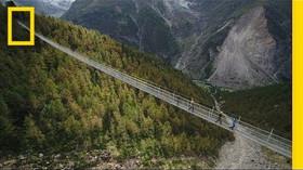 Ve švýcarských Alpách otevřen nejdelší visutý most na světě