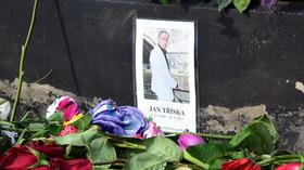 Místo, kde se vážně zranil herec Jan Tříska (23.9.2017).