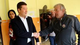 Zahraniční novináři zpovídali Okamuru: Co vám vadí? Migranty v Česku nemáte - anotační foto