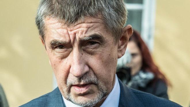 Andrej Babiš volí do Poslanecké sněmovny