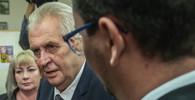 Zeman opět podpořil ambasádu v Jeruzalémě, kritiky přesunu označil za zbabělce - anotační obrázek