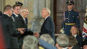 Udělování státního vyznamenání (28.10.2017)