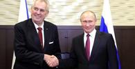 Miloš Zeman s Putinem