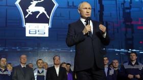 Komentář: Fenomén Putin? Ruská duše ho miluje, a oprávněně - anotační foto