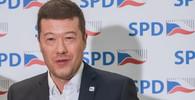 Facebook pohrozil SPD zrušením stránek, spadeno má i na Okamuru - anotační foto