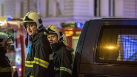 Požár hotelu Eurostars David v Praze