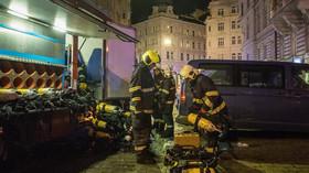 Vyhořelý hotel byl 12 let po rekonstrukci. Budova patří italskému podnikateli - anotační foto