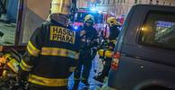 20 miliónů. Taková je škoda po požáru v pražském hotelu Eurostars - anotační foto