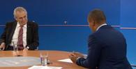 Komentář: Zeman ovládl první debatu, rozdrtil v ní rozpačitého Korantenga - anotační obrázek