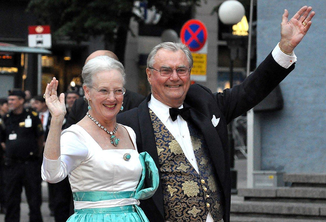 Princ Henrik s manželkou Margrethe II.