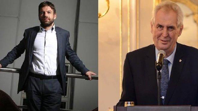 Ministr spravedlnosti v demisi Robert Pelikán rozhodně Miloše Zemana nepotěšil.