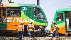 Na Českokrumlovsku se srazily dva vlaky