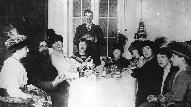 Ruská rodina orgie