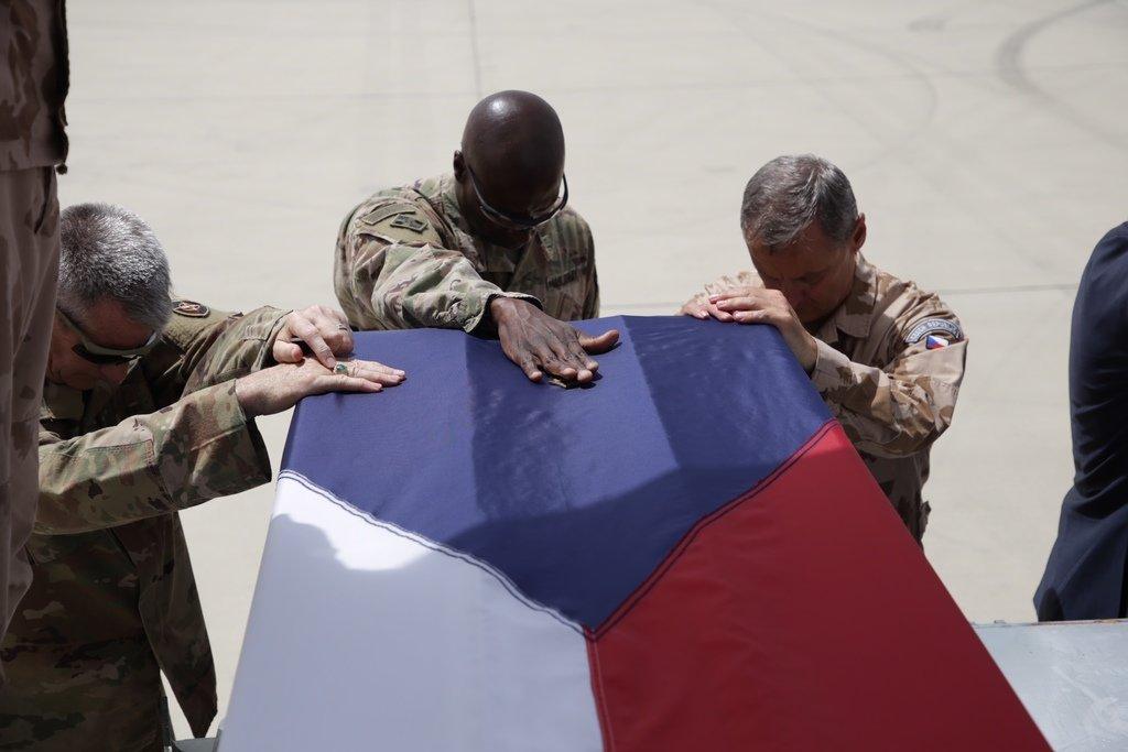 smrt tří českých vojáků v Afghánistánu (5. 8. 2018)