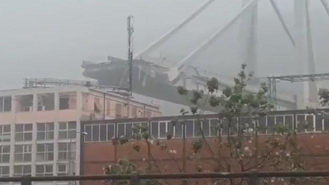 zřícený most v Janově (Genova, Italy 14.8.2018)