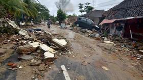 Výbuch sopky Krakatoa a cunami v Indonésii
