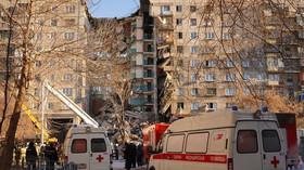 V Rusku vybuchl panelák plný lidí