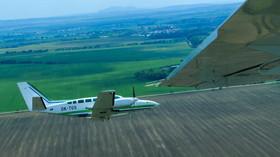 letecké mapování Česka