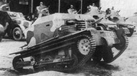 Tančík vz. 33 - Nejhorší vozítko československé armády, které bylo úplně k ničemu - anotační foto