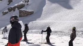 Prohledávání laviny ve Švýcarsku skončil (20.2.2019).