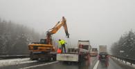 Dálnice D1 má problém: Směrem na Brno omezení trvá - anotační obrázek
