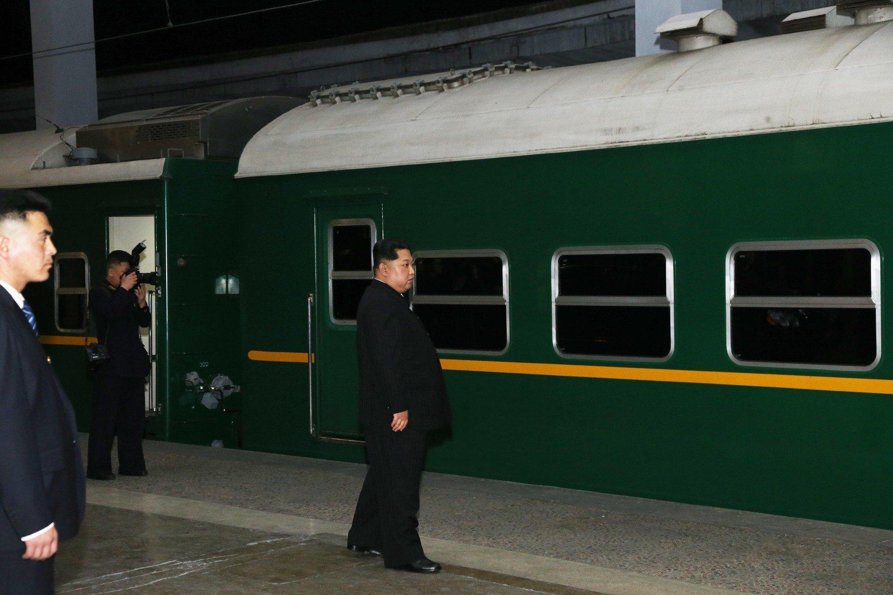 Kim Čong-un vyráží se svým vlakem