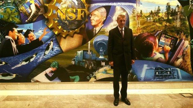 Andrej Babiš v USA