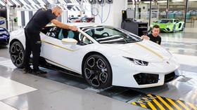 Lamborghini pro papeže Františka