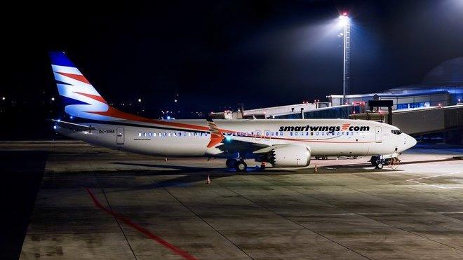 Boeing 737 MAX ( OK-SWA at Prague Václav Havel Airport), autor: Felix Riehle