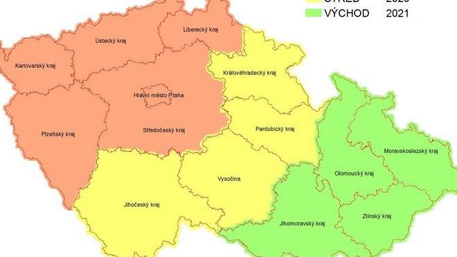 Východní část Česka se dočkala nových ortofotomap, aktualizace přidala před 31 tisíc snímků celé Moravy