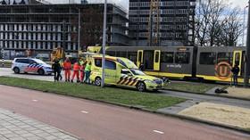 Střelba v tramvaji v Utrechtu (Foto: Yelle Tielman)