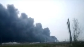 exploze v čínské chemičce v provincii provincii Ťiang-su (21.3.2019)