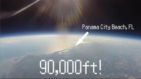 Když kamera letí do stratosféry