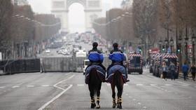 Demonstrace v Paříži (23.3.2019)