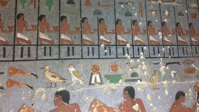Čeští egyptologové objevili hrobku hodnostáře a neznámou královnu
