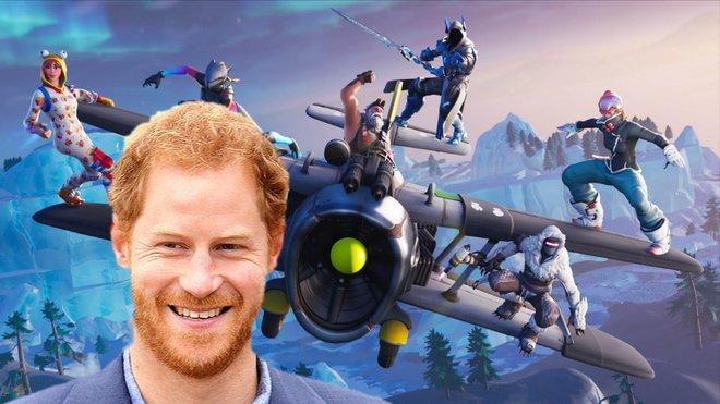 Princ Harry naštval fanoušky hry Fortnite