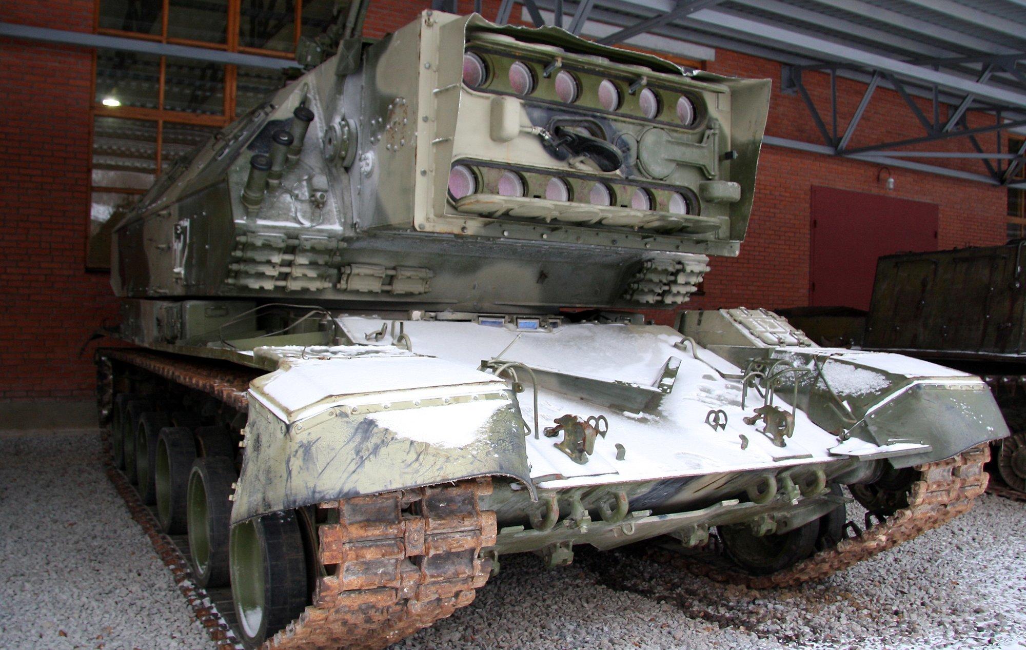 Tank 1K17 Szhatie (Autor: Vitaly V. Kuzmin)