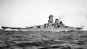 Jamato. Nejmasivnější válečná loď 20. století stála jako tři letadlové. Byla úplně k ničemu - anotační foto