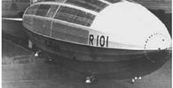Vzducholoď R101 byla luxusní, ale neovladatelná. Byla z toho horší katastrofa než Hindenburg - anotační foto