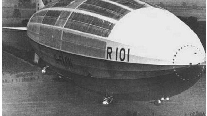 vzducholoď R101