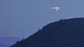 Tajemná světla v okolí Brown Mountain
