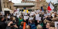 Prahou prošla demonstrace proti Babišovi