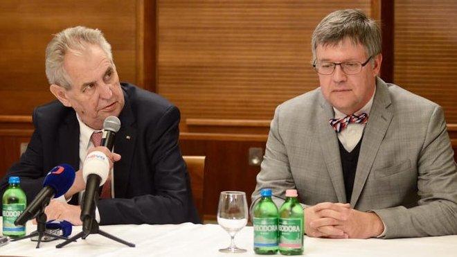 Miloš Zeman na návštěvě Maďarska