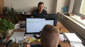Klaus, Václav ml. se pochlubil fotkou z nového sekretariátu