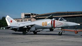 Jak-38 byl sovětský Harrier. Dokázal odstartovat a přistát všude - anotační foto