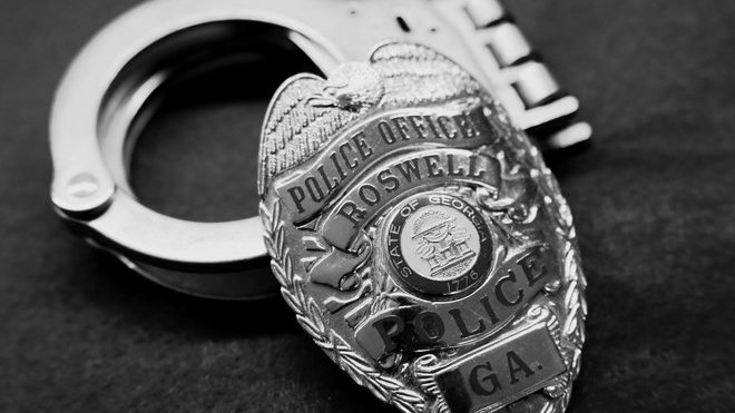 Policie Roswell, USA